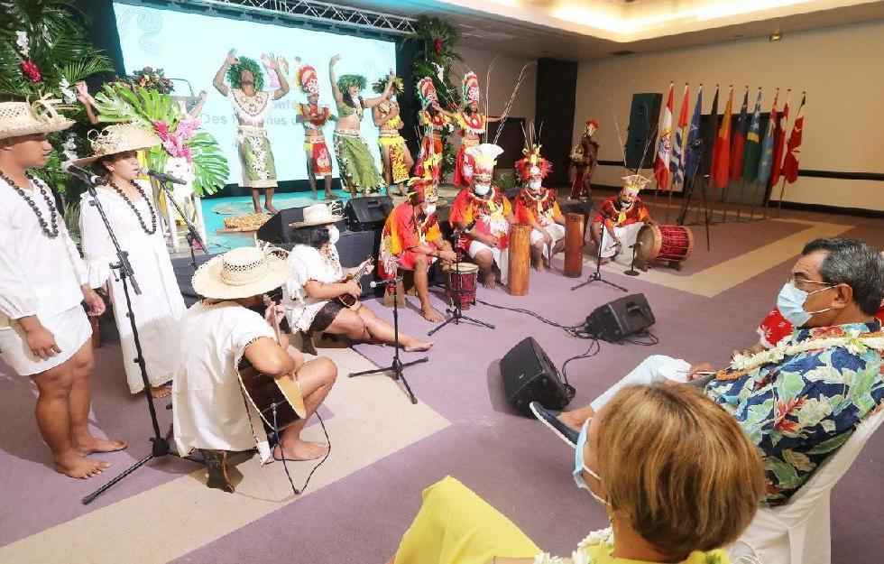 Ouverture de la 14e Conférence des femmes du Pacifique