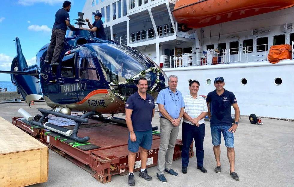 L'hélicoptère affecté aux évacuations sanitaires est arrivé aux…